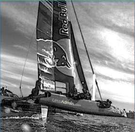 LessAdmin named as sponsor of Red Bull America's Cup Team